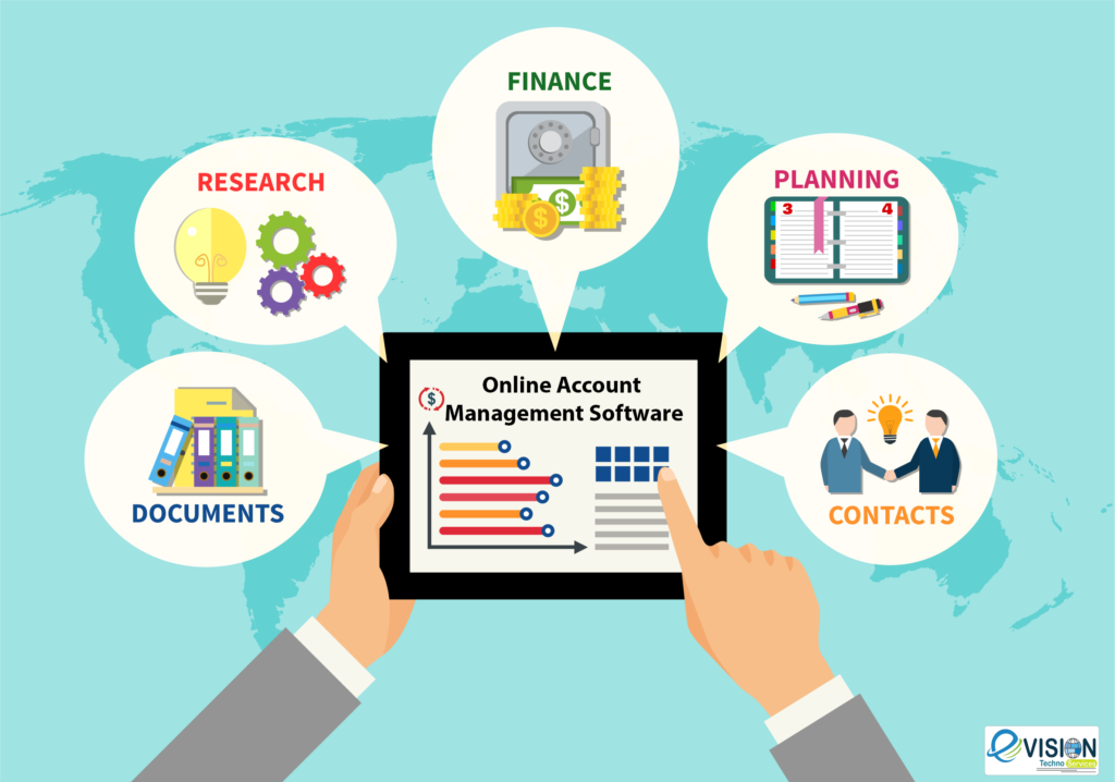 online account management software